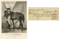 """Autographs:Military Figures, Anthony Wayne 1787 Autograph Document Signed """"Anty Wayne"""". One page, 7"""" x 3"""", np, June 25, 1787, a receipt for """"...30..."""