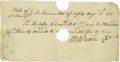 "Autographs:Inventors, Cadwallader D. Colden Autograph Letter Signed ""Cadwallader D.Colden."" A document signed by Colden, four pages, 8"" x 9.7..."