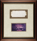 "Autographs:Statesmen, Daniel Webster Autograph Promissory Note Signed ""DanlWebster"" as U.S. Senator, one page, 8"" x 3.25"", Boston, May 13,18..."