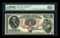 Large Size:Legal Tender Notes, Fr. 152 $50 1874 Legal Tender PMG Gem Uncirculated 65 EPQ....