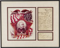 "Autographs:Military Figures, Admiral George Dewey Autograph Letter Signed ""George Dewey"". One page, 5"" x 11"", Flagship Olympia stationery, November ..."