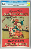 Golden Age (1938-1955):Cartoon Character, March of Comics #20 Donald Duck (K. K. Publications, Inc., 1948)CGC FN+ 6.5 Cream to off-white pages....