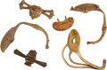 Militaria:Armor, Group of 6 American Sword Guards... (Total: 6 Items)