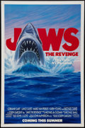 "Movie Posters:Thriller, Jaws 3-D & Other Lot (Universal, 1983). One Sheets (2) (27"" X 41""). Advance. Thriller.. ... (Total: 2 Items)"