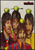 "Movie Posters:Rock and Roll, The Beatles (R-1990s). Polish Personality Poster (26"" X 37""). Rockand Roll.. ..."