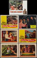 "Movie Posters:Crime, The FBI Story & Others Lot (Warner Brothers, 1959). Lobby Cards(7) (11"" X 14""). Crime.. ... (Total: 7 Items)"