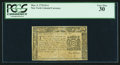Colonial Notes:New York, New York March 5, 1776 $1/4 PCGS Very Fine 30.. ...