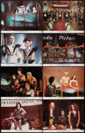 "Movie Posters:Rock and Roll, The Rocky Horror Picture Show (20th Century Fox, 1975). Lobby CardSet of 8 (11"" X 14""). Rock and Roll.. ... (Total: 8 Items)"