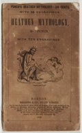 "Books:Americana & American History, ""Punch"". Heathen Mythology. Redding, 1845. Twelvemo.Publisher's wrappers. Good...."