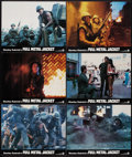 "Movie Posters:War, Full Metal Jacket (Warner Brothers, 1987). Lobby Cards (6) (11"" X14""). War.. ... (Total: 6 Items)"
