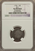 Early Dimes: , 1796 10C -- Plugged -- NGC Details. AG. JR-1. NGC Census: (0/202).PCGS Population (10/286). Mintage: 22,135. Numismedia W...