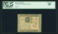 Colonial Notes:Pennsylvania, Pennsylvania April 25, 1776 30s PCGS Very Fine 30.. ...