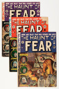 Golden Age (1938-1955):Horror, Haunt of Fear Group (EC, 1950s) Condition: Average VG-.... (Total:5 Comic Books)
