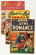 Golden Age (1938-1955):Science Fiction, EC Pre-Trend Group (EC, 1940s).... (Total: 4 Comic Books)
