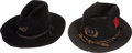 Military & Patriotic:Indian Wars, 2 Indian Wars Era Officer's Campaign hats... (Total: 2 Items)