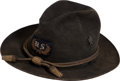 Military & Patriotic:Indian Wars, Indian Wars Officer's Slouch Hat...