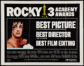 "Movie Posters:Academy Award Winners, Rocky (United Artists, 1977). Half Sheet (22"" X 28"") Academy AwardStyle. Academy Award Winners.. ..."