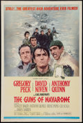 "Movie Posters:War, The Guns of Navarone (Columbia, R-1966). One Sheet (27"" X 41"").War.. ..."