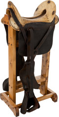 Military & Patriotic:Civil War, Confederate Copy of an M1859 McClellan Saddle in Superb Condition....