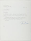 Autographs:Authors, Loren D. Estleman. Typed Letter Signed. Good....