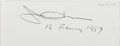 Autographs:Authors, Joan Didion. Clipped Signature. Near fine....