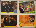 "Movie Posters:Comedy, Come Live with Me & Others Lot (MGM, 1941). Lobby Cards (4) (11"" X 14""). Comedy.. ... (Total: 4 Items)"