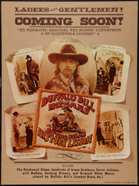 "Buffalo Bill and the Indians, or Sitting Bull's History Lesson (United Artists, 1976). One Sheet (30"" X 40"")..."