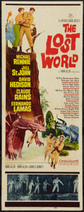 """Movie Posters:Science Fiction, The Lost World (20th Century Fox, 1960). Insert (14"""" X 36"""").Science Fiction.. ..."""