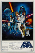 "Movie Posters:Science Fiction, Star Wars (20th Century Fox, 1977). One Sheet (27"" X 41"") Style CFlat Folded. Science Fiction.. ..."