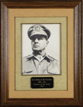 """Autographs:Military Figures, Douglas and Jean MacArthur Signed Photograph, 7"""" x 9"""", """"Douglas MacArthur"""" and """"Jean MacArthur"""" appear in the lower ..."""