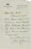 Autographs:Military Figures, The only known copy of the first report of victory at Gettysburg --Meade congratulates his army, July 4, 1863 (George Meade...