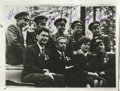 "Autographs:Non-American, Nine Soviet Cosmonauts Signed Photograph. An excellent 1960s groupportrait, 9.25"" x 7.25"", showing nine cosmonauts smiling ..."