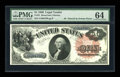 Large Size:Legal Tender Notes, Fr. 31 $1 1880 Legal Tender PMG Choice Uncirculated 64....
