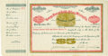 Miscellaneous:Ephemera, George Hearst Stock Certificate for Deadwood Mine. Unused stockcertificate issued by the George Hearst Gold and Silver Mini...