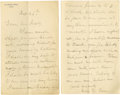 Military & Patriotic:Civil War, Union Artillerist's Civil War Diary including details from the third day at Gettysburg . Union Artillerist's journal, an...