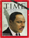 "Autographs:Celebrities, Martin Luther King 1964 Time Magazine Inscribed, ""To Helen WithBest Wishes Martin Luther King, Jr"". The greatest civil ..."