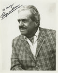 """Autographs:Inventors, Raymond Loewy Inscribed Signed Photograph, """"To Danny Raymond Loewy"""". Glossy black and white publicity shot, 8"""" x 10"""". Fr..."""