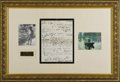 Autographs:Artists, Claude Monet Autograph Letter Signed, 2 pages on pre-printed Giverny and Vernon stationery, Eure region, France, January 17,...