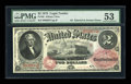 Large Size:Legal Tender Notes, Fr. 46 $2 1875 Legal Tender PMG About Uncirculated 53....