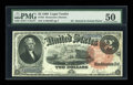 Large Size:Legal Tender Notes, Fr. 53 $2 1880 Legal Tender PMG About Uncirculated 50....