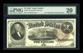 Large Size:Legal Tender Notes, Fr. 54 $2 1880 Legal Tender PMG Very Fine 20....