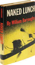 Books:Signed Editions, William Burroughs Signed Edition of Naked Lunch (New York:Castle Books with Grove Press, 1959), 255 pages, dark yellow ...