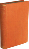 """Books:Fiction, Inscribed Erskine Caldwell God's Little Acre (London: MartinSecker, 1931), first English edition, 319 pages, 12mo (5.5""""..."""