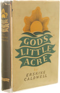 Books:Signed Editions, Erskine Caldwell Signed First Edition of God's Little Acre.(New York: The Viking Press, 1933), first edition, 303 pages...(Total: 3 )