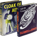 Books:First Editions, Two John W. Campbell, Jr. First Editions Cloak of Aesir(Chicago: Shasta Publishers, 1952), first edition, 254 pages...(Total: 2 )