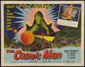 """Movie Posters:Science Fiction, The Cosmic Man (Allied Artists, 1959). Half Sheet (22"""" X 28"""").Science Fiction.. ..."""