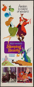 "Movie Posters:Animated, Sleeping Beauty (Buena Vista, R-1970). Insert (14"" X 36""). Animated.. ..."