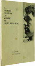 Books:Signed Editions, Jack Kerouac Signed Book: A Bibliography of Works By Jack Kerouac compiled by Ann Charters. (New York: The Phoenix Book ...