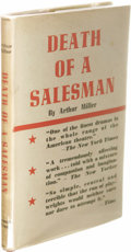 Books:Signed Editions, Arthur Miller Signed Death of a Salesman First UK Edition.(London: The Cresset Press, 1949), 133 pages, red cloth bindi...
