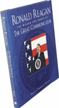 Books:Signed Editions, Ronald and Nancy Reagan Signed Book. Ronald Reagan: The Wisdomand Humor of the Great Communicator, edited by Frederick ...